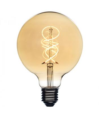 LED FILAMENT GLOBE AMBER